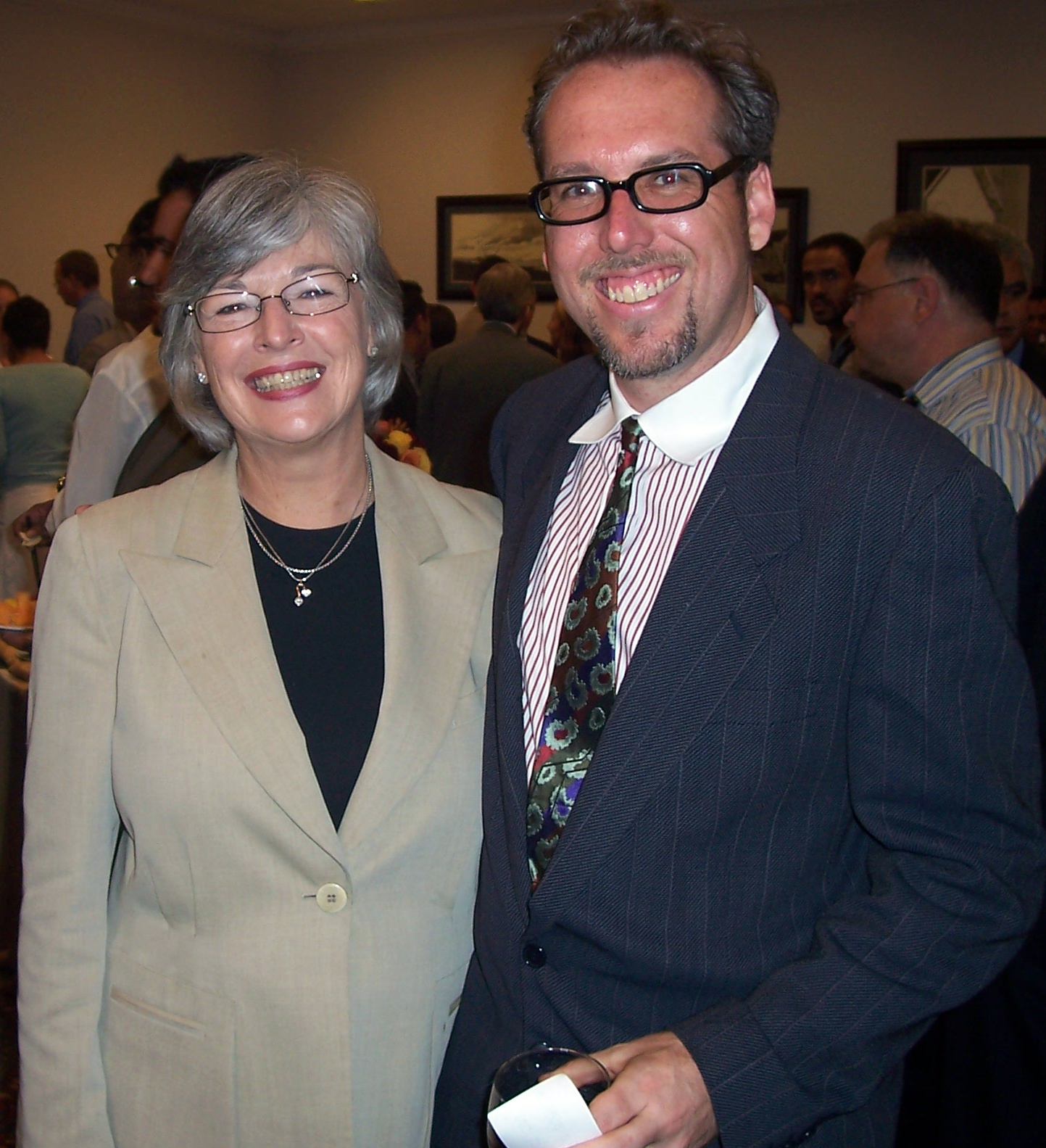 Paul Martin (with Lynn Woolsey)
